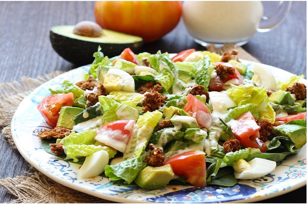 Готовим вкусные салаты фото
